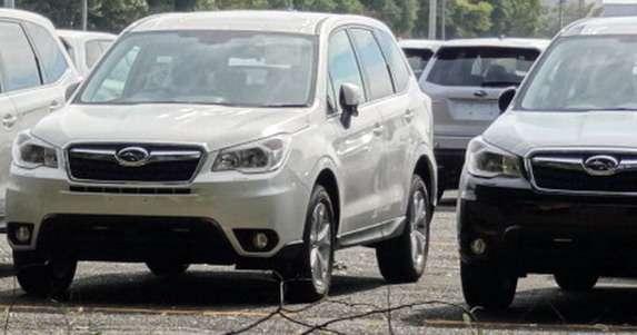 Subaru Forester 2014 bez kamuflażu