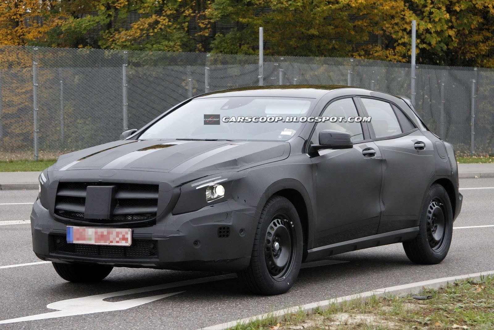 Mercedes GLA 2014 zdjęcia szpiegowskie