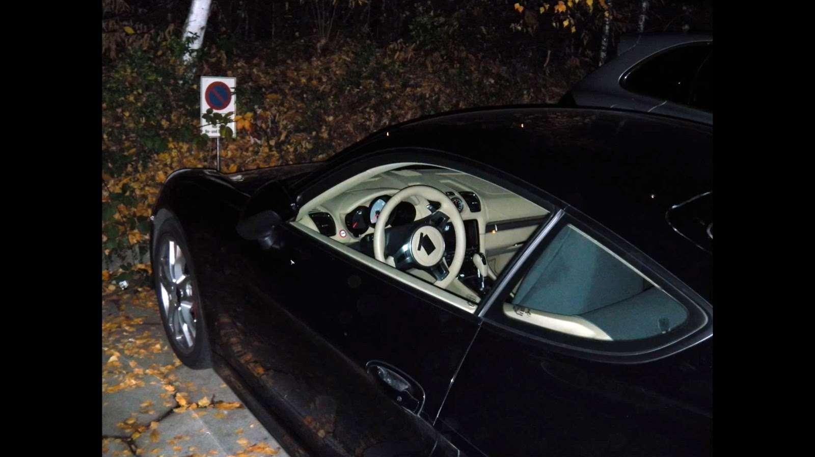 Porsche Cayman Coupe 2013 szpiegowskie