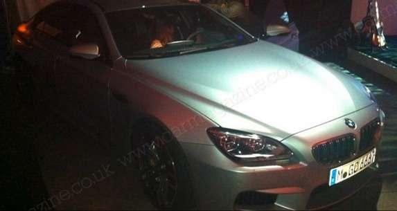 BMW M6 Gran Coupe zdjęcia