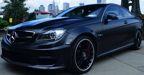Mercedes C63 AMG Dark Knight Mode Carbon
