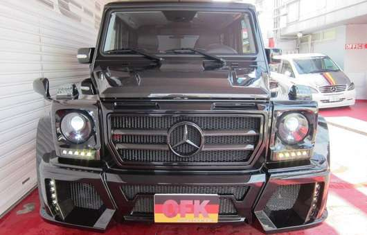 Office-K Mercedes G55 AMG tuning