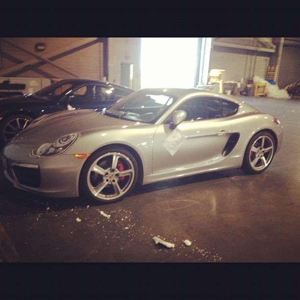 Porsche Cayman 2013 szpiegowskie