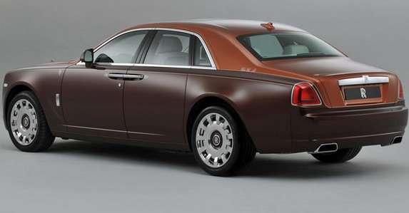 Rolls-Royce Ghost specjalna edycja One Thousand