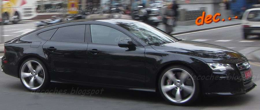 Audi RS7 Spy Photos