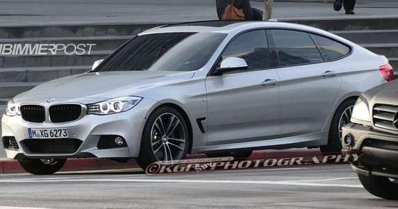 BMW serii 3 GT bez kamuflażu