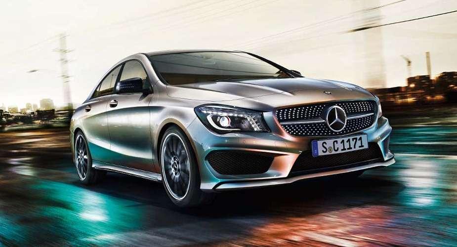 Mercedes CLA wyciek zdjęć
