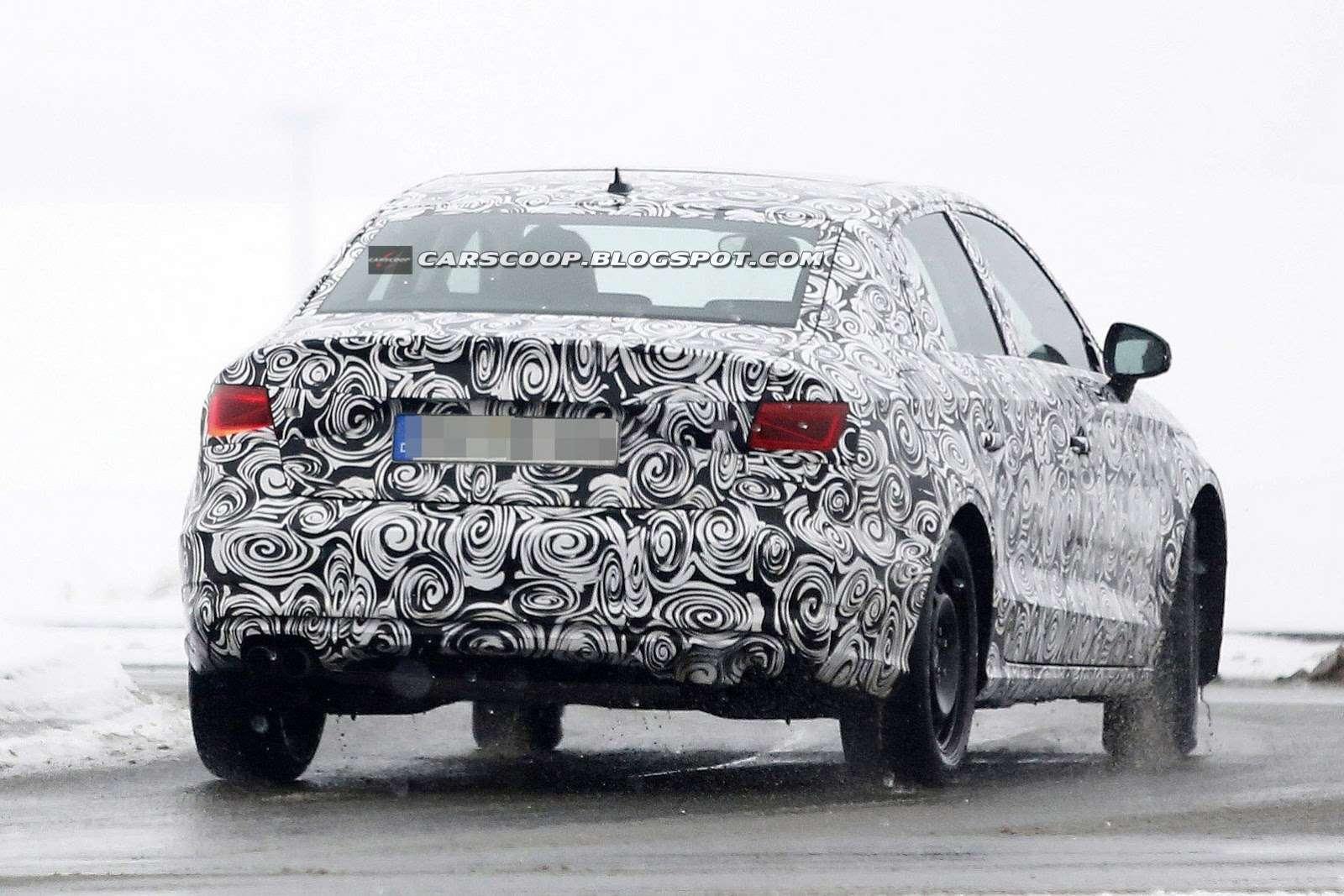 Audi A3 Sedan 2014 zdjęcia szpiegowskie
