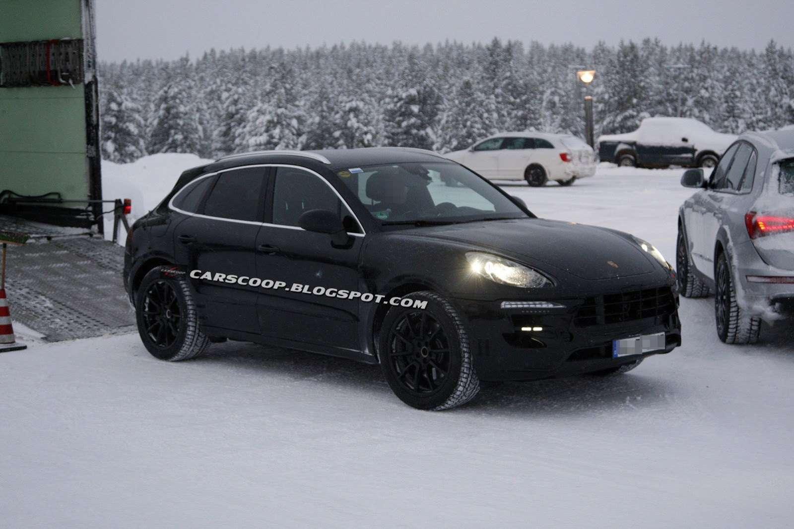 Porsche Macan zdjęcia szpiegowskie