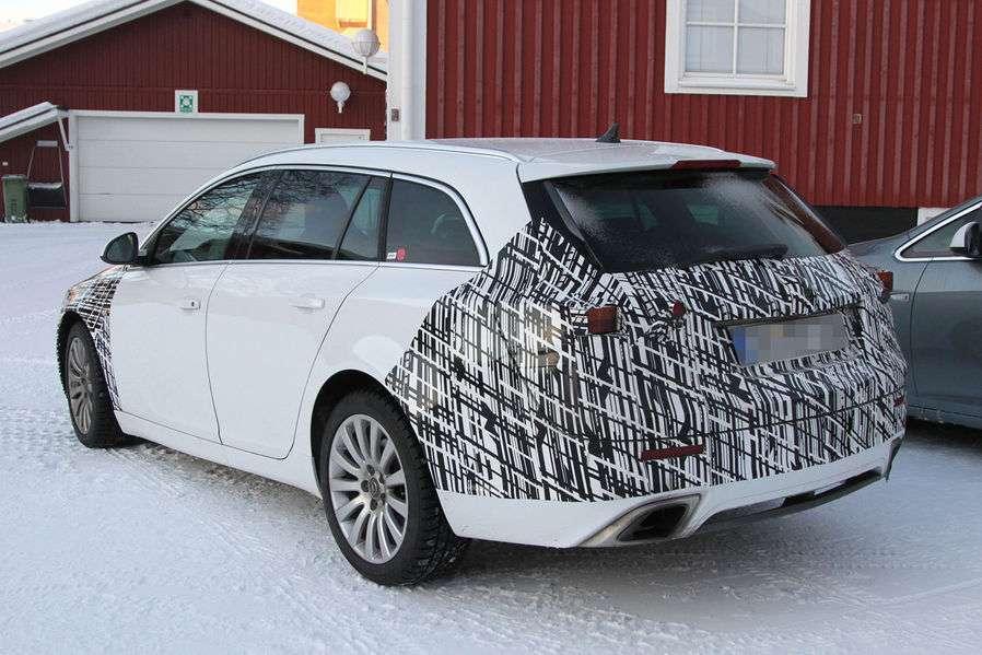 Opel Insignia facelift 2013 szpiegowskie