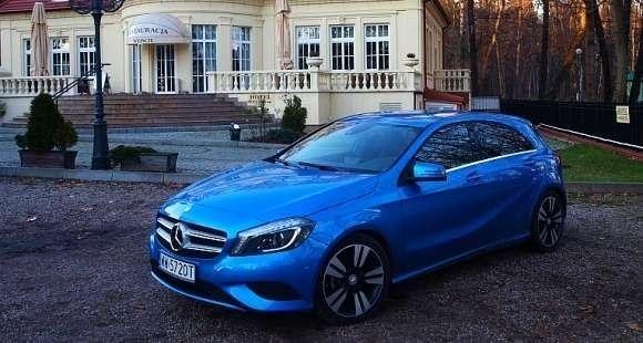 Nowy Mercedes A180 CDI BlueEFFICIENCY 7G-DCT
