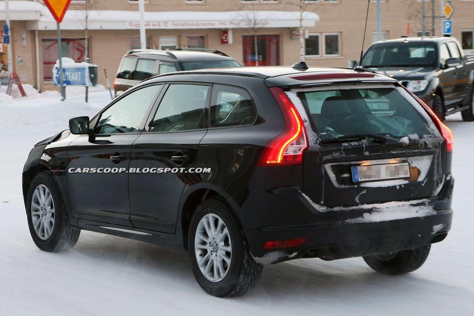 Volvo XC60 2014 facelift szpiegowskie