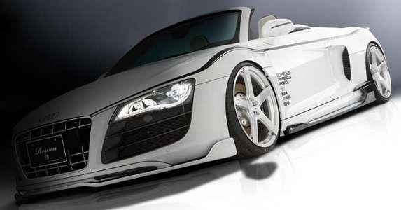 Audi R8 White Wolf Edition Tommykaira