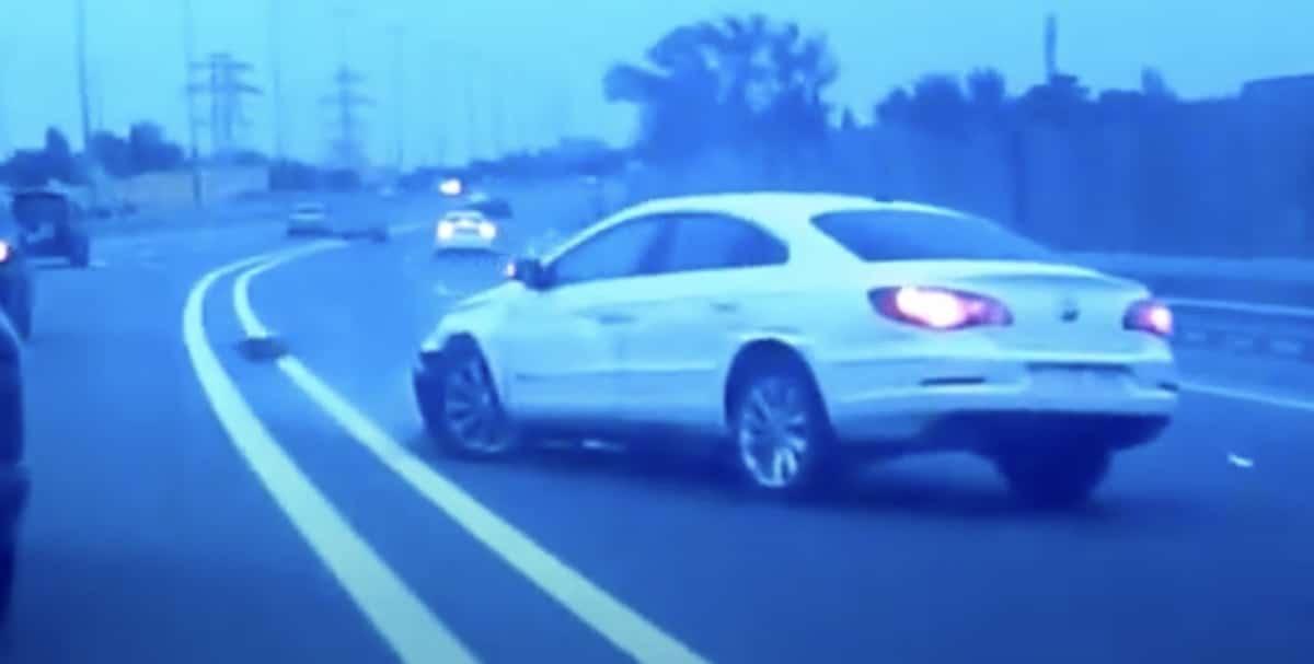 Volkswagen Passat CC: biały