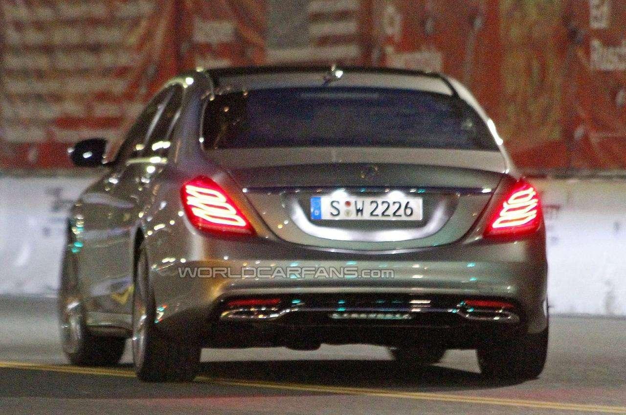 Mercedes klasy S 2014 bez kamuflażu