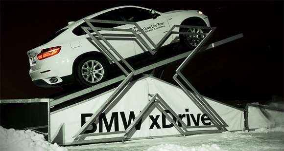 BMW xDrive Live Tour