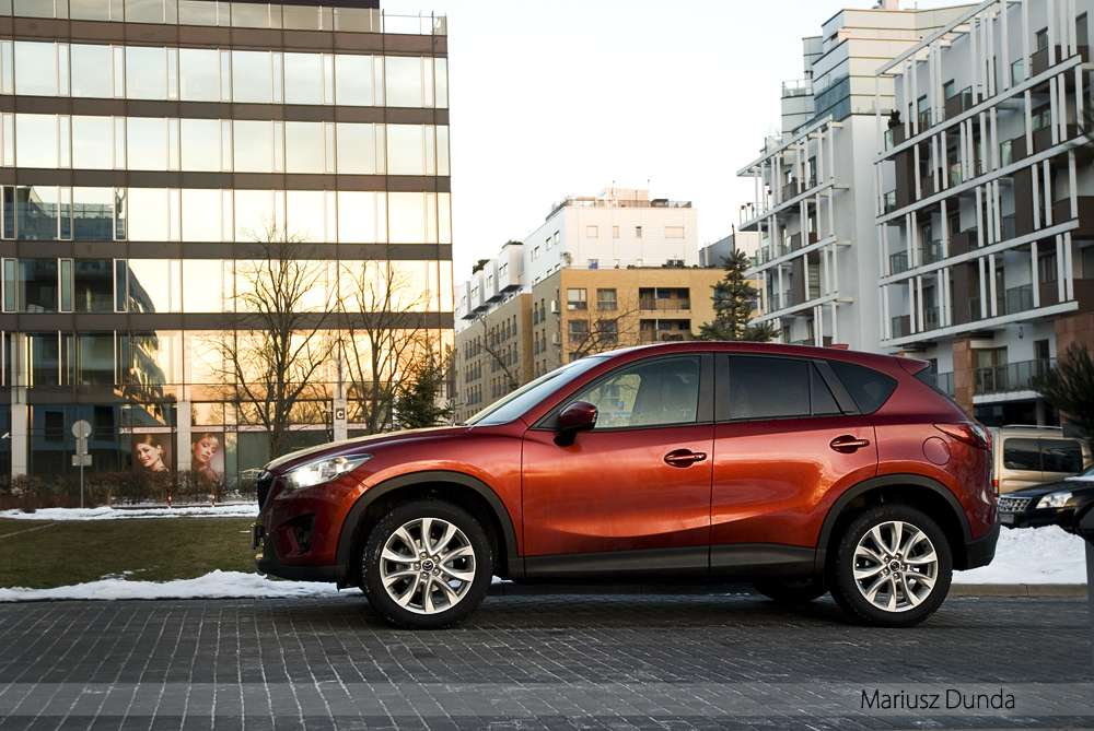 Mazda CX-5 AWD test