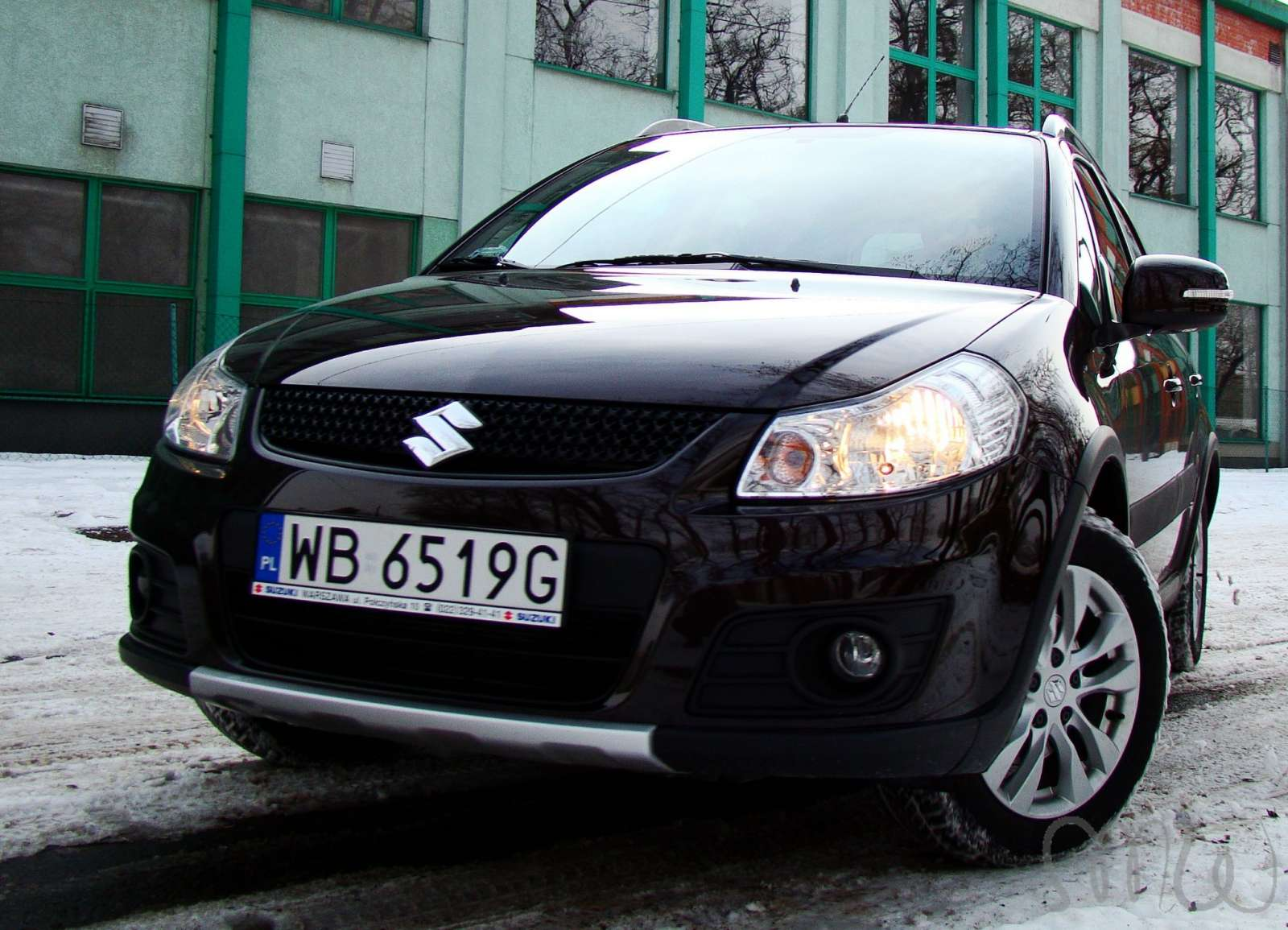 Suzuki SX4 test