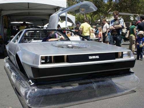 Rich Weissensels DeLorean kolekcja