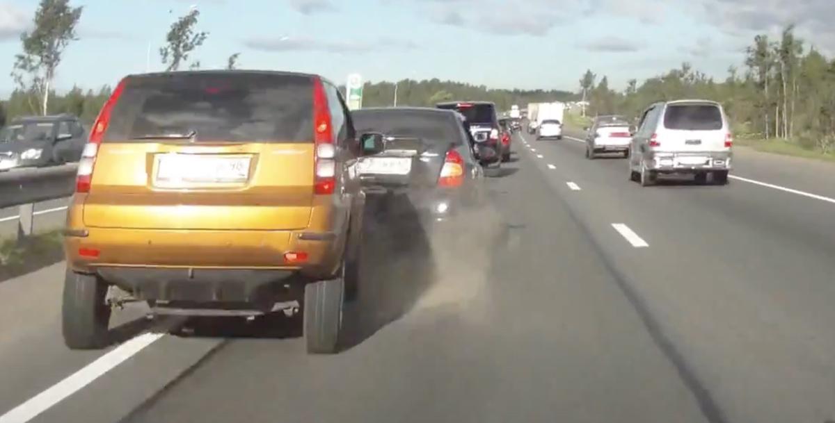 autostrada wypadek