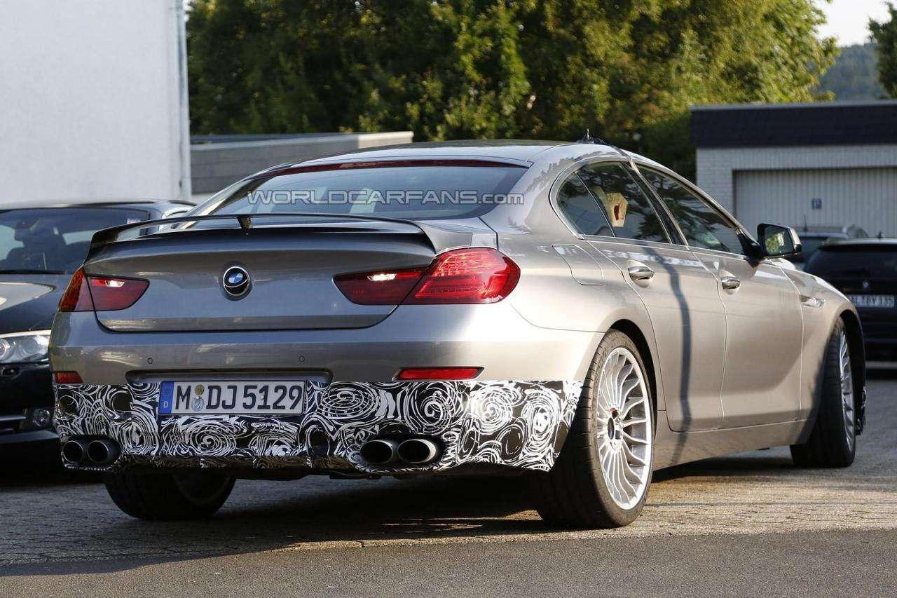BMW 6 Gran Coupe Alpina szpiegowskie