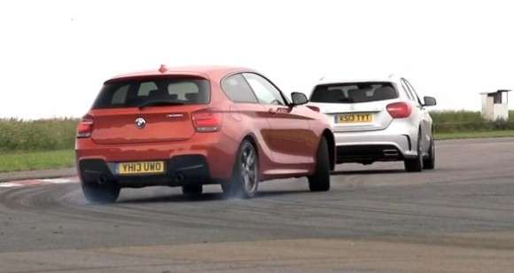 BMW M135i vs Mercedes A45 AMG