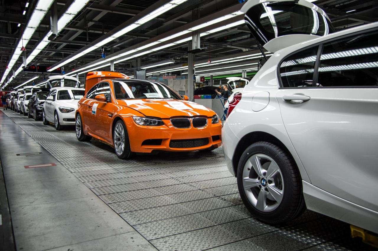 BMW M3 Coupe produkcja