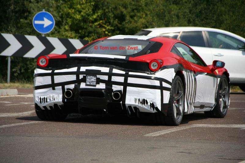 Ferrari 458 Monte Carlo szpiegowskie