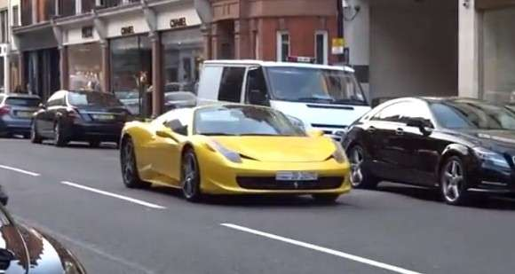 Ferrari 458 Spider London