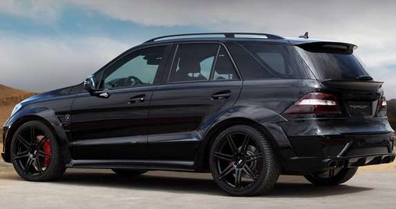 Mercedes ML63 AMG Inferno Black TopCar