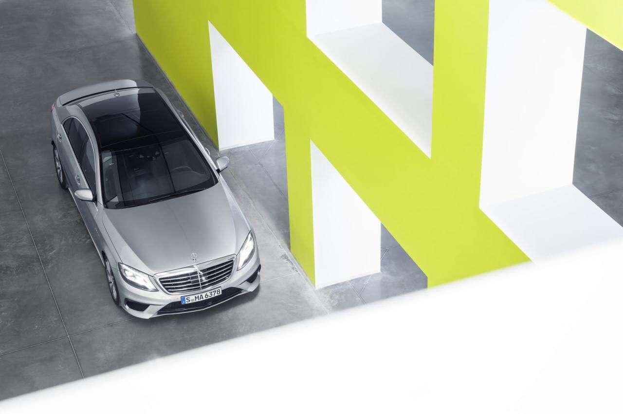 Mercedes S63 AMG 2014