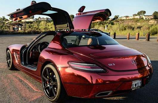 Mercedes SLS AMG Iron Man Rs Tuning