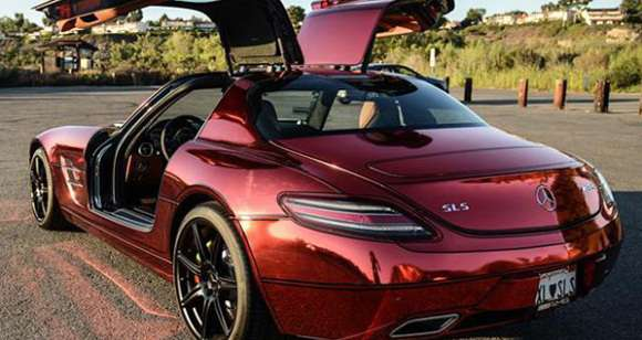 Mercedes SLS AMG Iron Man