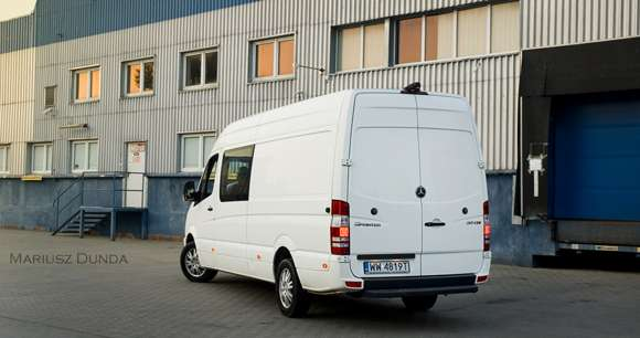 Mercedes Sprinter tył