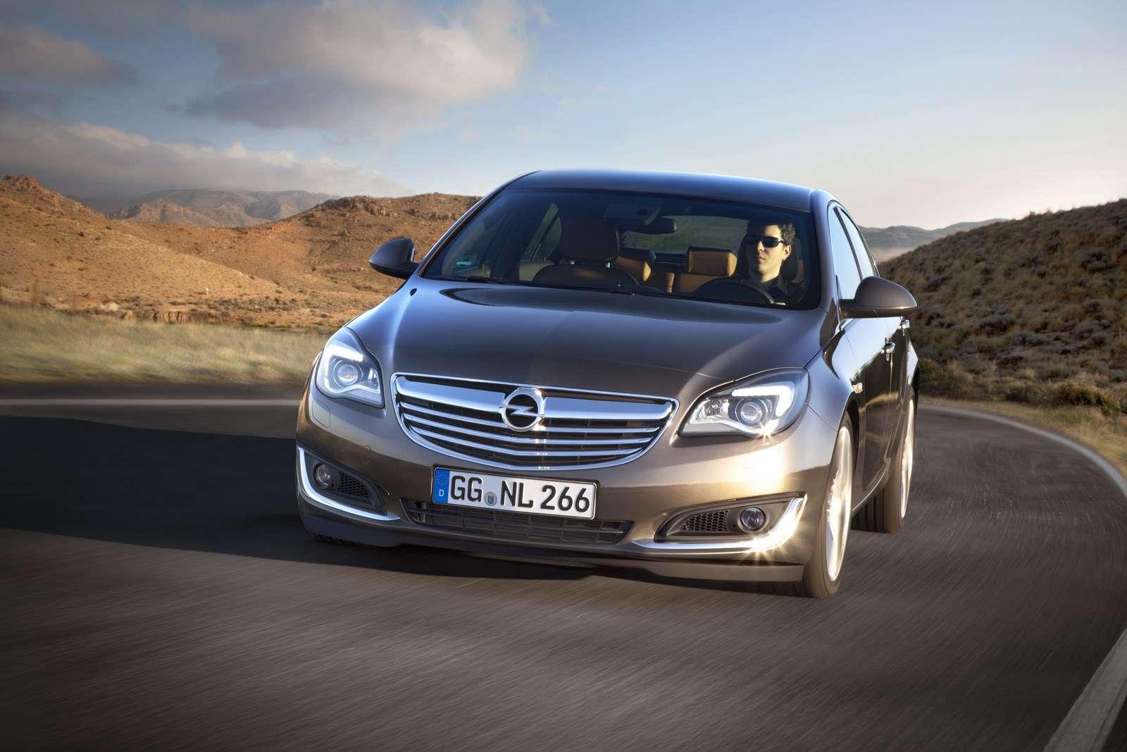 Opel Insignia Facelift 2013