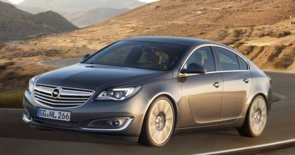 Opel Insignia po faceliftingu model 2013