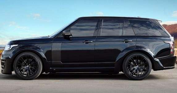 Range Rover CLR R Black Lumma Design