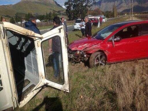 Volkswagen Golf 7 GTI crash