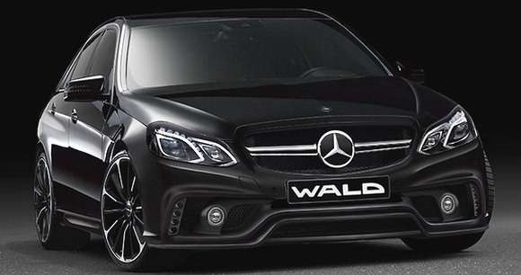 Mercedes klasy E facelifting 2013 Wald International