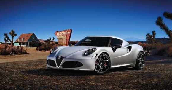Alfa Romeo 4C specjalna edycja