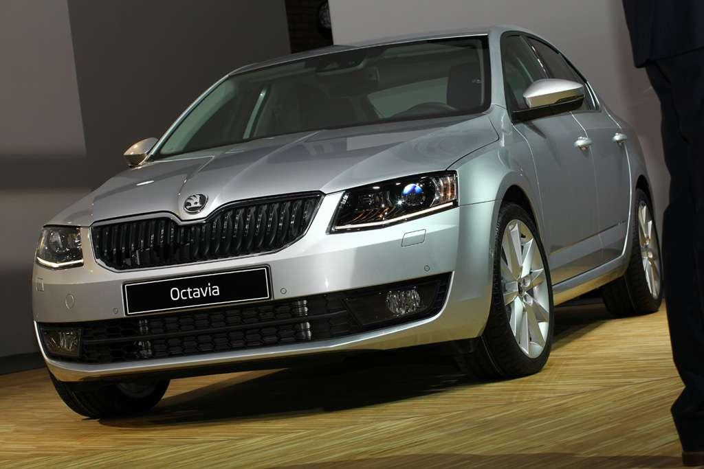 Skoda Octavia III 2013
