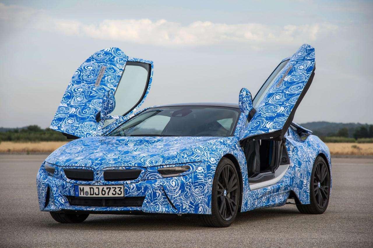 BMW i8 2014 szpiegowskie