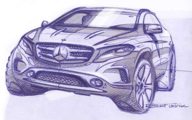 Mercedes GLA 2014 teaser