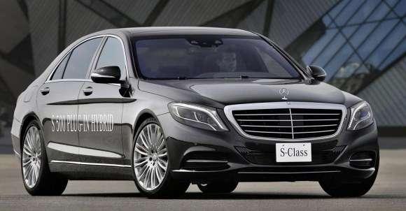 Mercedes S500 Plug-In Hybrid 2014