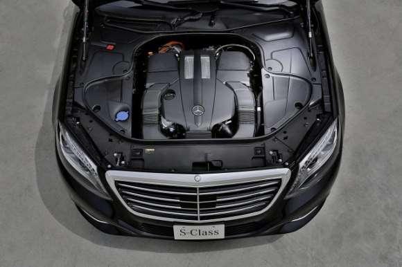 Hybrydowy Mercedes klasy S