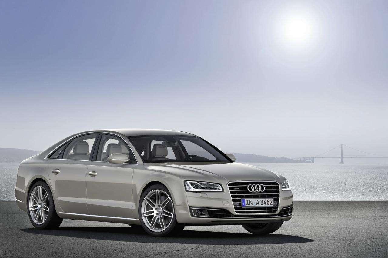 Audi A8 Facelift 2014