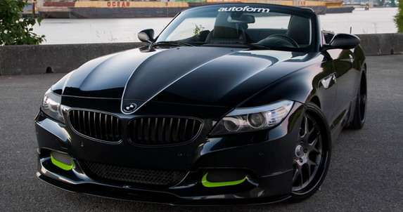 BMW Z4 Project Slingshot MWDesign tuning