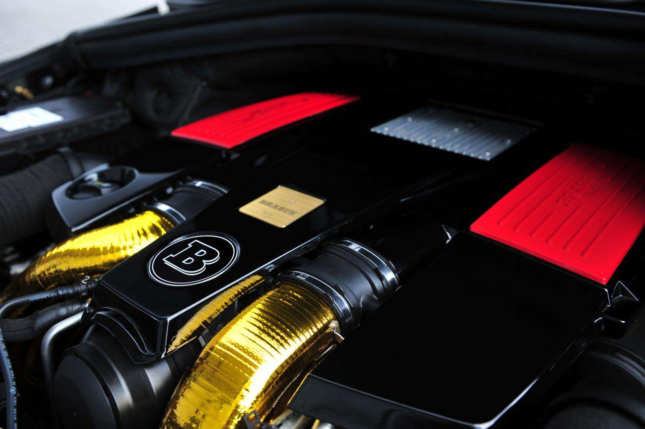Brabus B63S Mercedes ML 63 AMG