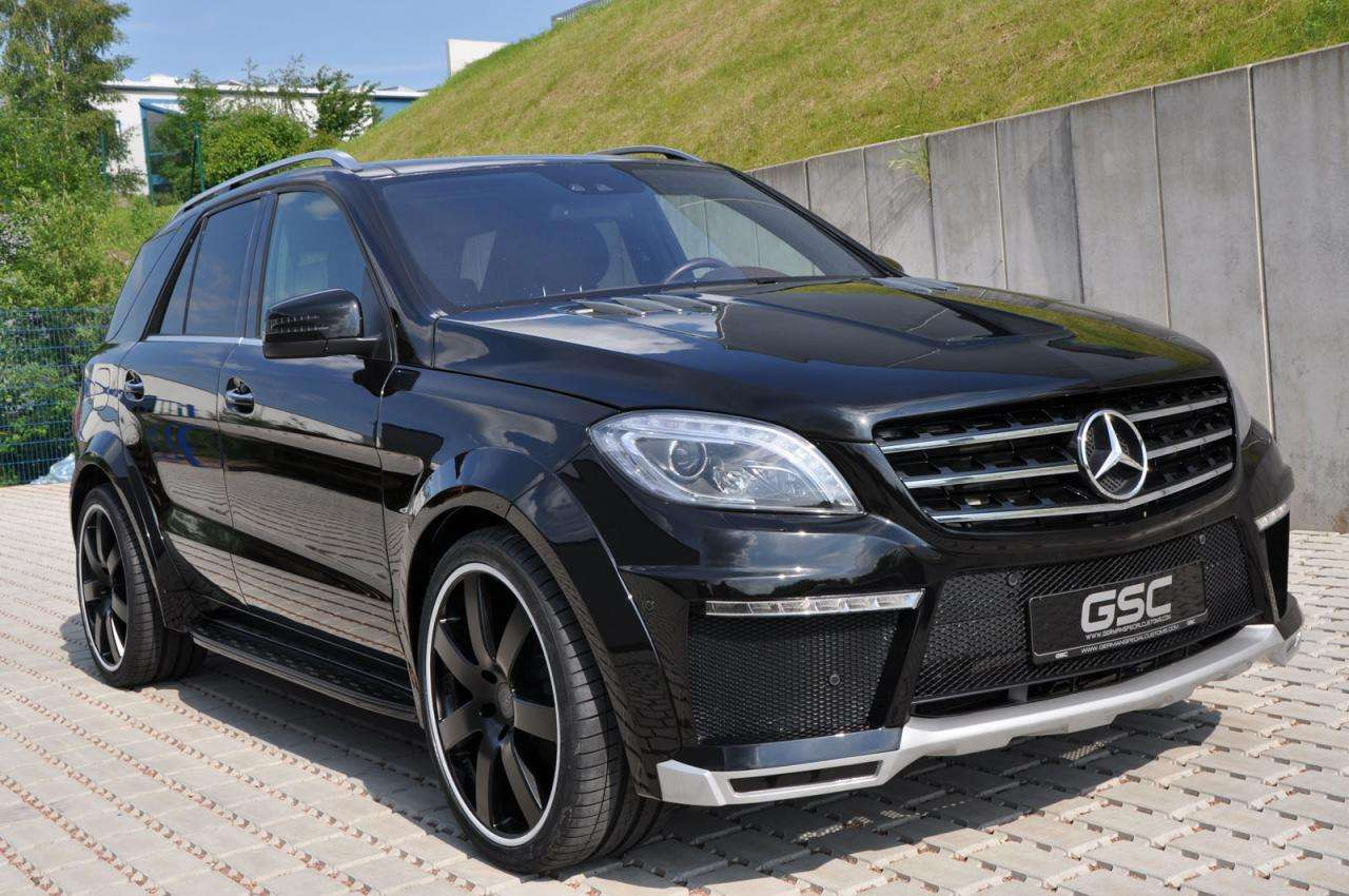 Mercedes ML German Special Customs