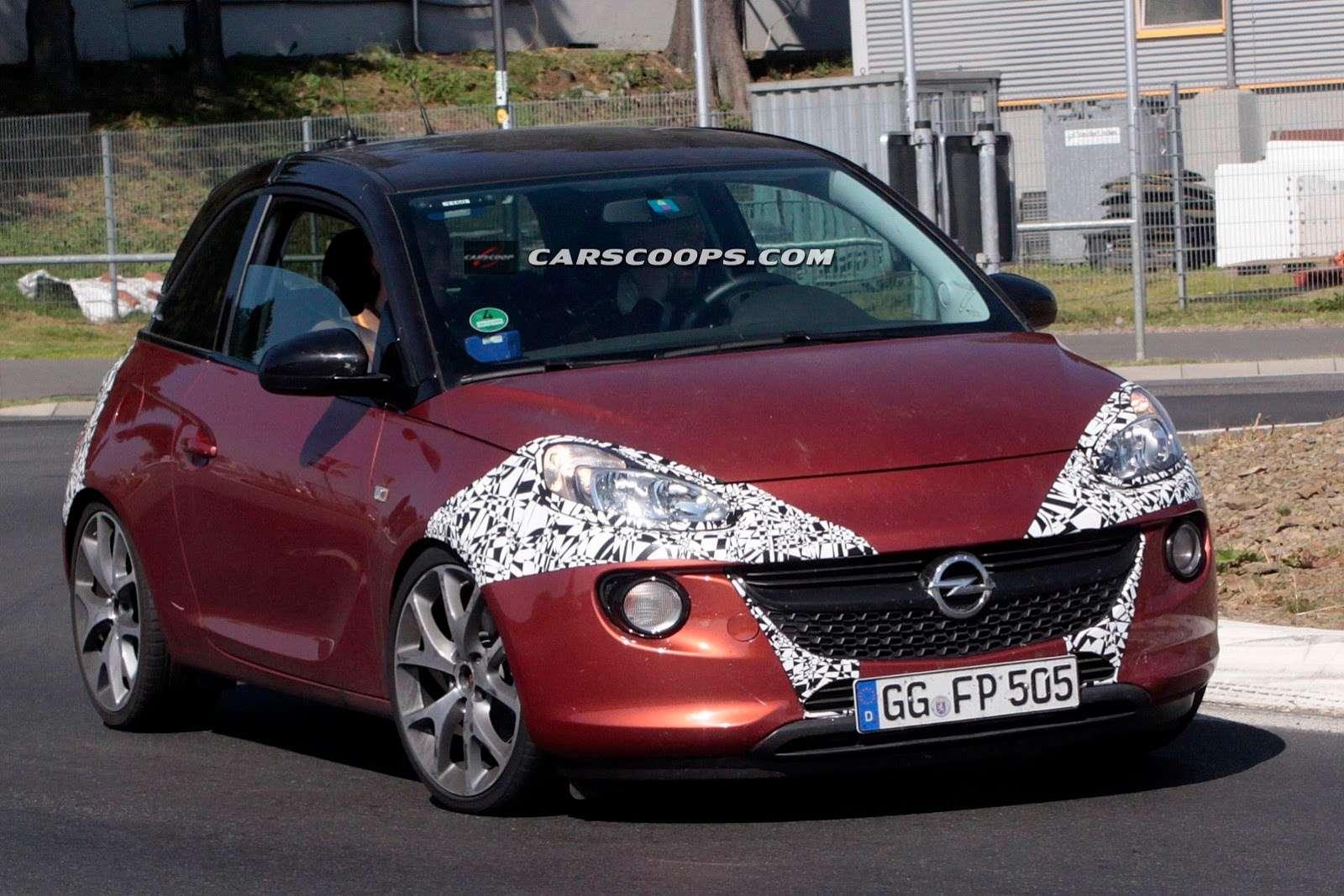 Opel Adam OPC szpiegowskie